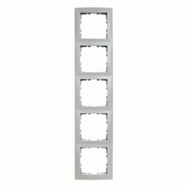 10148989 berker rahmen 4 fach s1 polarweiss gl nzend abdeckrahmen. Black Bedroom Furniture Sets. Home Design Ideas