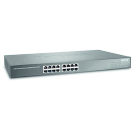 FNSW-1601 PLANET ETHERNET SWITCH 16 X10/ 100 MBPS  110-240VAC 19Zoll Produktbild