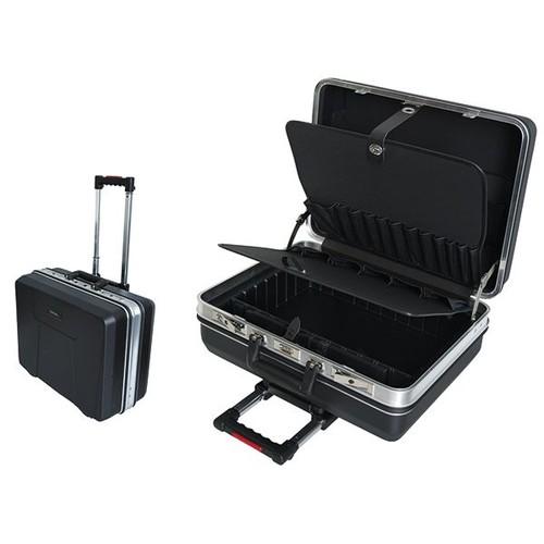 220048 Haupa Werkzeugkoffer Omegamax Trolley 28 Facher 470x220x360mm