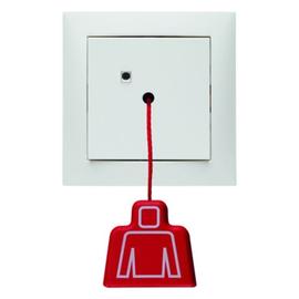 52029909 berker zugtaster s1 m rahmen polarweiss. Black Bedroom Furniture Sets. Home Design Ideas