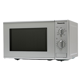 nn k121mmepg panasonic mikrowelle 800w 1000w quarzgrill 20l silber mikrowellenger t. Black Bedroom Furniture Sets. Home Design Ideas