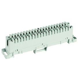 6089 1 102-02 Krone LSA-Plus Trennleiste 2/10, ohne Frabcode, bedruckt 1-0 Produktbild