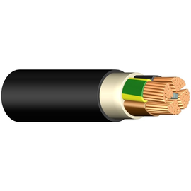 E-YY-J 3X1,5 RE schwarz Erdkabel Produktbild