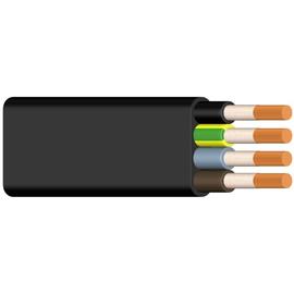 NGFLGÖU-JZ 12X1,5 schwarz Messlänge Gummiflachleitung Produktbild