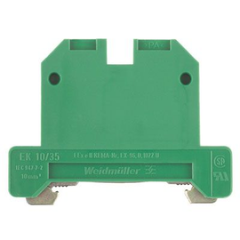 661360000 WEIDMÜLLER EK10/35 PA SCHUTZ- LEITERKLEMME Produktbild