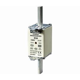 NH2GG50V63 MERSEN NH-SICHERUNG GR 2 63A GL 500 Volt Produktbild