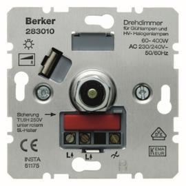 283010 BERKER DIMMER 400W DRUCKWECHSEL- EINS. Produktbild
