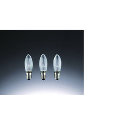 912135 HELLUM TOPKERZEN GERIFFELT 3W 12V E10 ZU 20-TLG.RIFFELKERZENK.(3ER-BLI) Produktbild