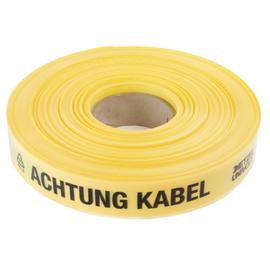 """2192 DIETZEL KABELWARNBAND Aufdruck: """"Achtung Kabel"""",  Rolle 250m Produktbild"""