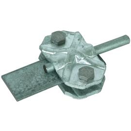454100 DEHN VERBIND/TRENNKLEM.  7-10 30-40 2TLG NIRO-SCHRAUBEN M8 Produktbild