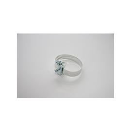 9010 ELNE UNIV ERDUNGSSCHELLE BIS 1 1/2 L=25cm V2A-Spannband Produktbild