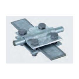 321046 DEHN KREUZKLEMME 10 / FL40  2TLG M8 Produktbild