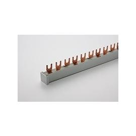 3113530 ELNE Phasenschiene 10mm L1/L2/L3 3pol Gabel 1m 17,8 Eaton Hager Produktbild