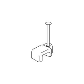 K1501/15W KLEINHUIS 1501/15 ISO- VIERKANTSCHELLE WEISS (100 Stk.) Produktbild