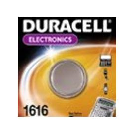 030336 DURACELL 1616/B1 KNOPFZELLE (1 STK.BL) 3V LITHIUM-SPEZIALBATTERIE Produktbild