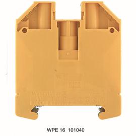 1010400000 WEIDMÜLLER WPE 16 SCHUTZ- LEITERKLEMME Produktbild
