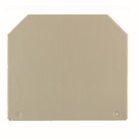 1050100000 Weidmüller WAP Abschlussplatte für WDU 16-35 beige Produktbild