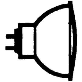 272634 OSRAM 44865 WFL DECOSTAR-S 12V 35W 36-GRAD HALOGENLAMPE GU5,3 EEI:B Produktbild