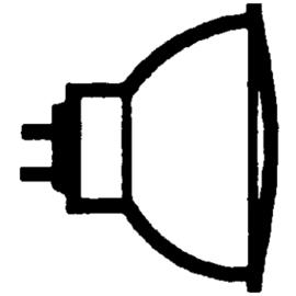 272795 OSRAM 44870 WFL DECOSTAR-S 12V 50W 36-GRAD HALOGENLAMPE GU5,3 EEI:B Produktbild