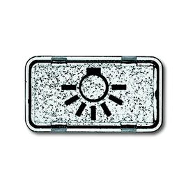 2622 LI-101 BUSCH-JAEGER SYMBOL LICHT TRANSPARENT ALLWETTER Produktbild
