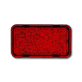 2622-12-101 BUSCH-JAEGER SYMBOL ROT TRANSPARENT ALLWETTER Produktbild