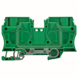 1739650000 Weidmüller ZPE35 Reihenklemme Gelb-Grün Zugfeder Produktbild