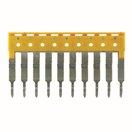 1608940000 WEIDMÜLLER ZQV 2.5/10 Querverbinder/Brücker für Reihenklemme Produktbild