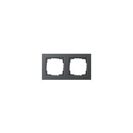 21223 GIRA RAHMEN 2-FACH E2 ANTHRAZIT Produktbild