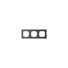 21323 GIRA RAHMEN 3-FACH E2 ANTHRAZIT Produktbild