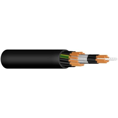(N)FLGÖU-JZ 24X1,5 schwarz Messlänge Gummi-Steuerleitung mit Tragorgan Produktbild Front View L
