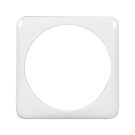 776019 LEGRAND ZWISCHENRING 46,5 RUNDE AUSNEHM. CREO MANDELWEISS Produktbild