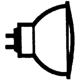 428734 OSRAM 46865 VWFL DECOSTAR TITAN 12V 35W 60-GRAD HALOGENL. GU5,3 EEI:B Produktbild