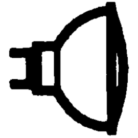 346229 OSRAM 44892 WFL DECOSTAR-S 12V 35W 36-GRAD HALOGENLAMPE GU4 EEI:B Produktbild