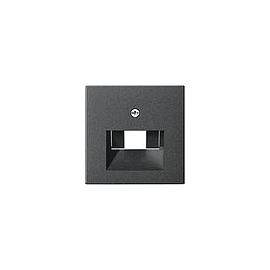 27028 GIRA ZENTRALSTÜCK F. UAE SYSTEM 55 ANTHRAZIT Produktbild