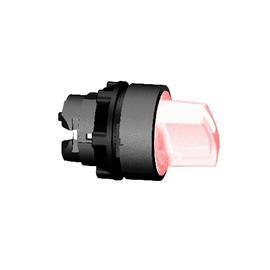 ZB5AK1243 SCHNEIDER E. LEUCHTWAHLSCH. ROT F.LED 2-STELL.RASTEND HARMONYSTYLE 5 Produktbild