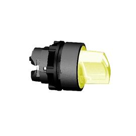 ZB5AK1253 SCHNEIDER E. LEUCHTWAHLSCH. GELB F.LED 2-STELL.RASTEND HARMONYSTYLE5 Produktbild