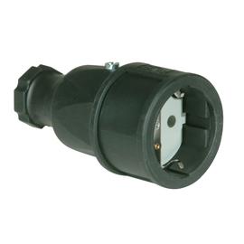 2510-S PCE SCHUKOKUPPLUNG GUMMI ISO. EINSATZ IP20 OHNE DECKEL Produktbild