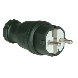 0511-S PCE SCHUKOSTECKER GUMMI ISO. EINSATZ IP44 Produktbild