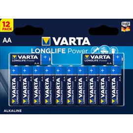 04906121482 VARTA LONGLIFE Power AA (12STK.-BL.) Mignon Batterie Produktbild