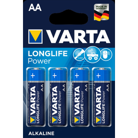 04906121414 VARTA LONGLIFE Power AA (4STK.-BL.) Mignon Batterie Produktbild