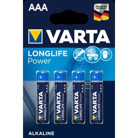 04903121414 VARTA LONGLIFE Power AAA (4STK.-BL.) Micro Batterie Produktbild