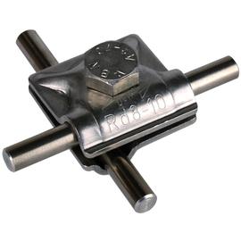 390059 DEHN MV-KLEMME 8-10 NIRO V2A Produktbild