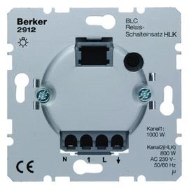 2912 BERKER BLC RELAIS-SCHALTEINSATZ HLK- KANAL GLÜH/HV/NV-KONV./TRONIC/TL Produktbild
