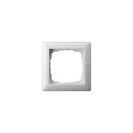 21103 GIRA RAHMEN 1-FACH STANDARD 55 REINWEISS GLÄNZEND Produktbild