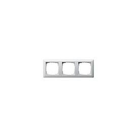 21303 GIRA RAHMEN 3-FACH STANDARD 55 REINWEISS GLÄNZEND Produktbild