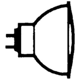 516592 OSRAM 48865 ECO SP DECOSTAR 12V 35W 10-GRAD HALOGENLAMPE GU5,3 EEI:B Produktbild