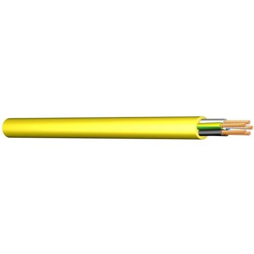 XYMM-J 5X6 GELB K35 Messlänge PVC-Baustellenleitung Produktbild Front View L
