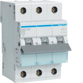 MCN316 Hager 16/3/C Leitungsschutz- schalter 6kA Produktbild