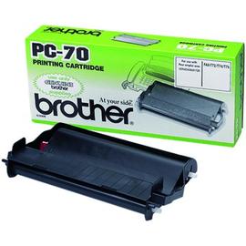 PC70 BROTHER TTFDRUCKKASSETTE INKL. FILMROL. (CA.140 SEITEN) FAX SERIE T7T9 Produktbild