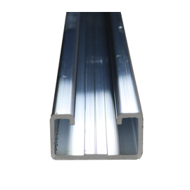 92000356 ELECTRO TERMINAL A8 ANKERSCHIE. ALU UNGELOCHT (L=2000mm) Produktbild